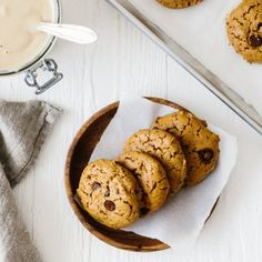 Chocolate Chip Tahini Cookies-Your source of sweet inspirations!...