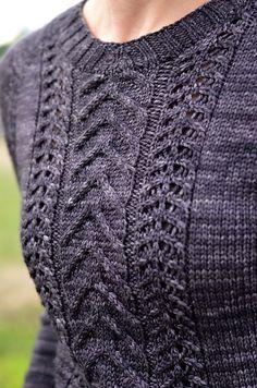 Cozy Saturday by Elena Nodel, knitted by Laura PNW | malabrigo Rios in Pearl Ten