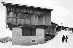 Tabià on the Dolomites