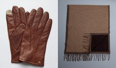 Abboud Gloves and Zegna Scarf