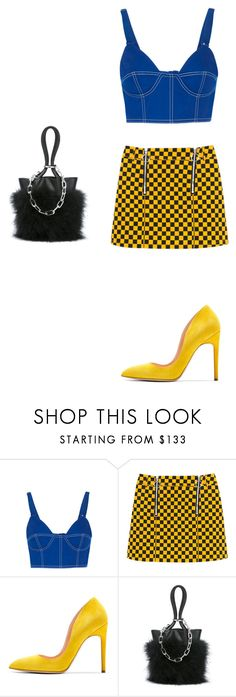 """TICK"" by mattressqueen ❤ liked on Polyvore featuring Givenchy, Rupert Sanderson and Alexander Wang"