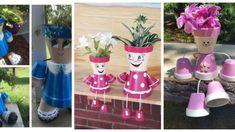 Stimulatorii naturali pentru dezvoltarea rădăcinilor plantelor. Salvați acest articol ca să nu-l pierdeți! - Floare de tei Recycled Garden, Flower Pots, Recycling, Cake Pops, Creative, Planters, Unicorn Pinata, Painted Plant Pots, Plant