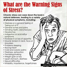 Warning signs of stress. I hope all of my pininterest know these signs and get the courage and help when life is too overwhelming! Auswirkungen Von Stress, Chronischer Stress, Stress Causes, Work Stress, Coping With Stress, Dealing With Stress, Stress Less, Stress And Anxiety, How To Not Stress