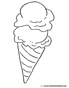 Ice Cream Coloring Pages Ice Cream Coloring Pages Eco Coloring Page