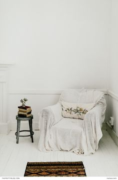 With its white wooden floors and detailed furnishings, The Richmond Café and Rooms is the epitome of vintage chic. Decor, Furniture, Room, White Wooden Floor, Homey, Living Room Decor, Home Decor, Furnishings, Vintage Chic