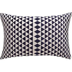 I like all the CB2 pillows together- more sophisticated look. SakanaPillow12x18F12