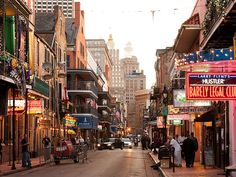 Bourbon Street in New Orleans, USA | Sygic Travel