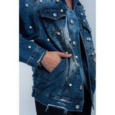 Denim jacket with mu