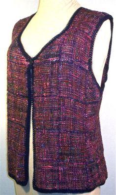 Basic Pin Loom Vest