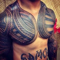 no true samoan tattoo, but still nicely done