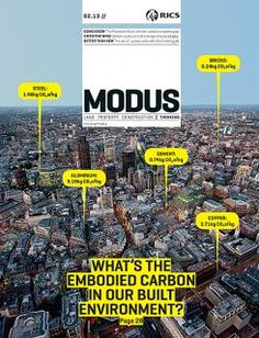 Modus (UK) una portada que funciona como un pequeño infografico sobre el tema central de la revista