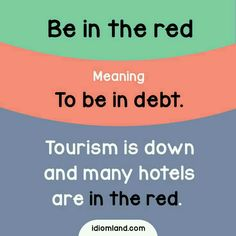 Be In The Red