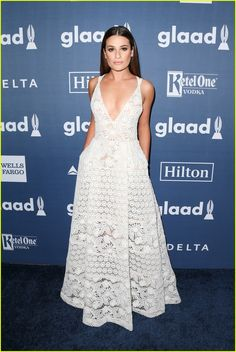 Lea Michele Reunites With 'Scream Queens' Co-Stars at GLAAD Media Awards 2016: Photo #3620672.
