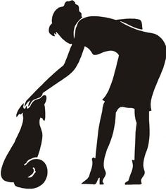Research shows that touching your dog is an important part of greeting.