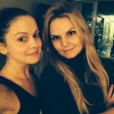 Rose McIver and Jennifer Morrison