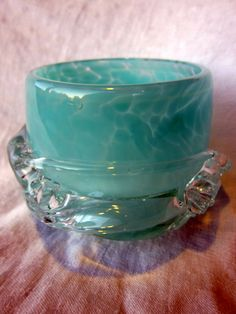 Merrilee Moore Glass Votive http://merrileemoore.com/