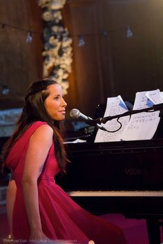 Photo of Nerina Pallot, taken by me!    Nerina is my all time favourite artist. Absolutely wonderful songwriter, so talented, and one of the nicest people you could ever hope to meet.