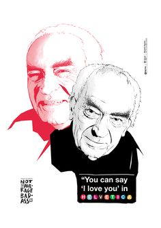 Massimo Vignelli, poster design, graphic design, helvetica, illustration