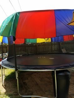 Perfect shade for your Trampoline! Trampoline Reviews, Outdoor Trampoline, Playhouse Outdoor, Trampoline Ideas, Pool Movie, Preschool Classroom Decor, Sleepover Activities, Play Houses, Home
