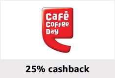 Amazon Pay Cafe Coffee Day Offer 25% Back Upto 100