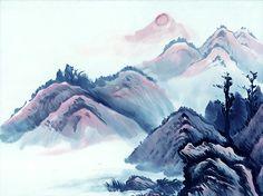 I uploaded new artwork to fineartamerica.com! - 'Mountain' - http://fineartamerica.com/featured/mountain-lanjee-chee.html