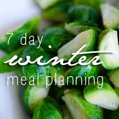 Sustainable Meal Planning for the Real World