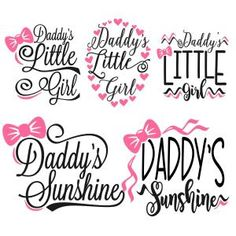 Daddy SVG Cuttable Designs