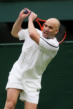 Andre Agassi - Centre Court Celebration