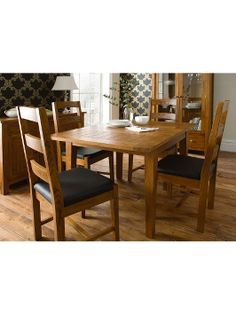 HOME COLLECTION Balmoral Small Extending Dining Table