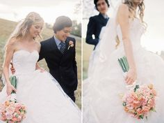 Bride and Groom | DIY | Artistic | Wedding | B. Wright Photo