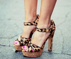 The perfect leopard print. The size of the spots is crucial, and these are just right.