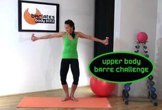 FREE Barre Workout - Upper Body Barre Challenge BARLATES BODY BLITZ