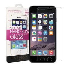 Our iPhone 6 screen protector now selling on Amazon: http://www.amazon.com/Protector-Xuralux-Premium-Tempered-Shatter/dp/B00RM4BMT0