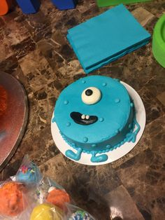 Smash Cake -- Little Monster's