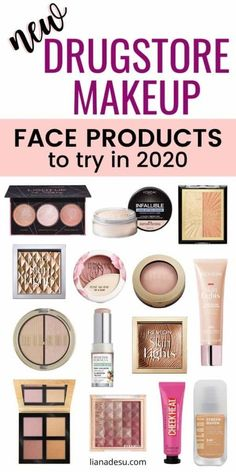 Drugstore makeup brands have just released a bunch of new makeup products for the new year. See which new drugstore makeup face products look the best to try in drugstore makeup newrelease beauty new 2020 lianadesu 392728030009867652 Drugstore Makeup Brands, Best Makeup Brands, Drugstore Foundation, Maybelline Products, Drugstore Highlighter, Best Drugstore Products, Drugstore Eyeshadow, Makeup Foundation, Eyeshadow Makeup