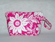 Pink+Dahlia+Cosmetic+Bag