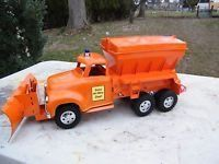 Awesome Custom '56 Ford Tonka State Highway Truck w/ Plow And Salter sold for big bucks on eBay