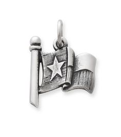 Texas Flag Charm   James Avery. I think I would've enjoyed this charm if the flag was flat.