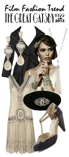 Film Fashion Trend: The Great Gatsby Fashion Roundup | Vintage Tea Roses  http://vintagetearoses.com/great-gatsby-glamour-film-fashion #vintage #gatsby #artdeco