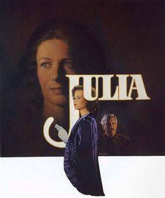"Richard Amsel's original art for the ""Julia"" (1977) movie poster"