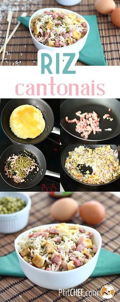 Riz cantonais express, la recette facile, Recette Ptitchef - The Best Baby Recipes Easy Rice Recipes, Baby Food Recipes, Food Baby, Cooking Tips, Cooking Recipes, Cooking Kale, Cooking Steak, Food Porn, Healthy Recipes