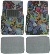 Butterflies car floor mats, butterfly car accessories for girls. Car Mats, Car Floor Mats, Cute Butterfly, Beautiful Butterflies, Girly Car, Car Carpet, Car Accessories For Girls, Wheel Cover, Seat Covers