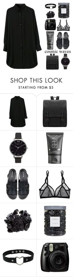 """""""Broken Record/ 25 QUESTIONS TAG!"""" by ai-m ❤ liked on Polyvore featuring Olivia Burton, NARS Cosmetics, Eres, McCoy Design, Threshold, Fujifilm and bedroom"""