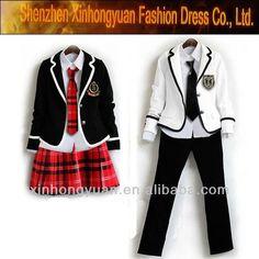 c1307be30 2013 fashion custom high school uniform design wholesale School Uniform  Fashion, School Uniform Girls,