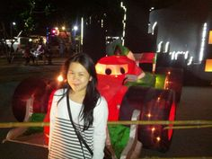 I'm with cars in disney lantern celebration