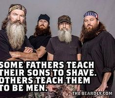 If we all lives by duck dynasty ethics this world would be a better place.
