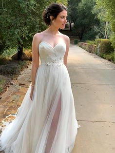 Pictured in Champagne, also available in Ivory or White. Order in any size from 2 to 28 or with your own custom measurements. Find a store near you at KennethWinston.com Simple Lace Wedding Dress, Dream Wedding Dresses, Cotton Lace, The Dress, Floral Lace, Bridal Gowns, Nice Dresses, Champagne, Tulle