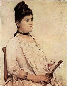 """Giovanni Fattori, Porträt der Stieftochter"" (wikipedia)"