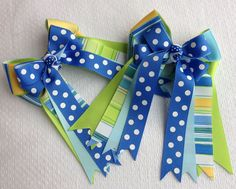 Hair Bows for Horse by BowdanglesShowBows on Etsy