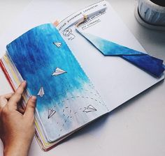 Wreck this journal | paper plane
